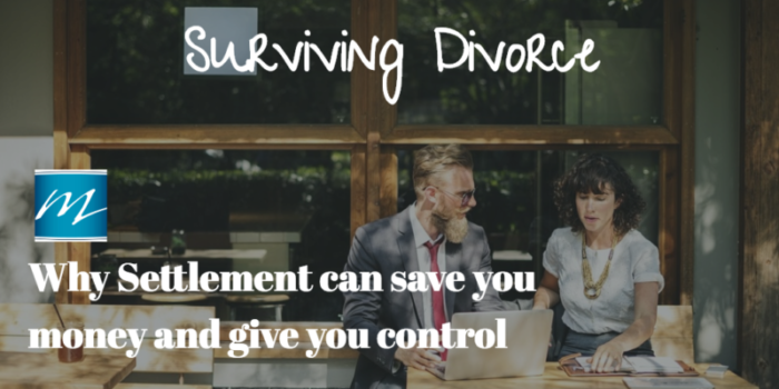 Settlement: why this work is so important in divorce