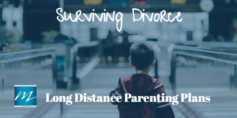 Long Distance Parenting Plans