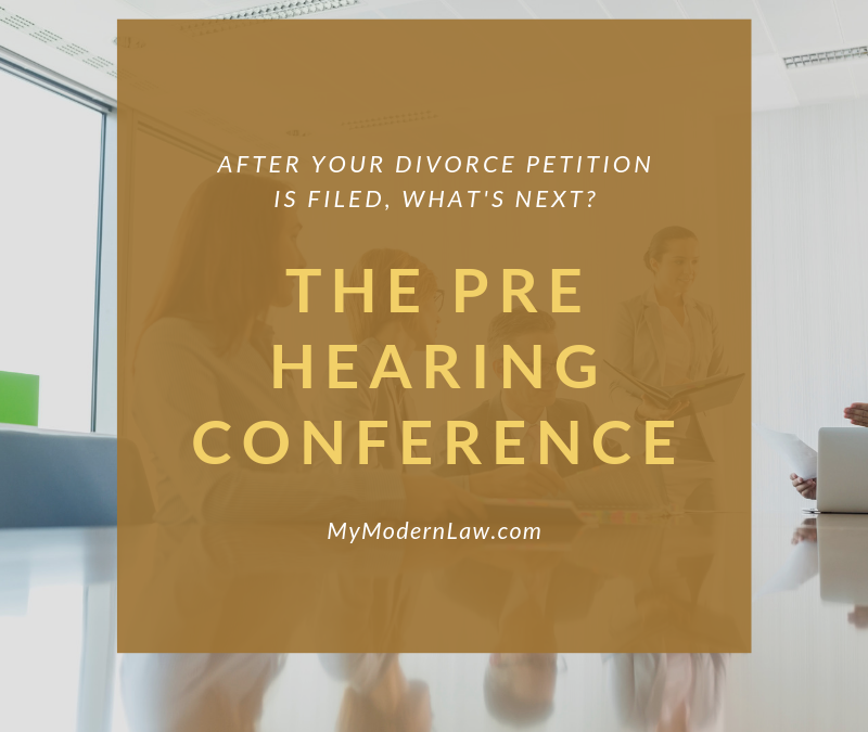 Divorce Phase Two: Pre Hearing Conferences
